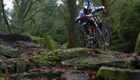 Promotional video production Bike park wales