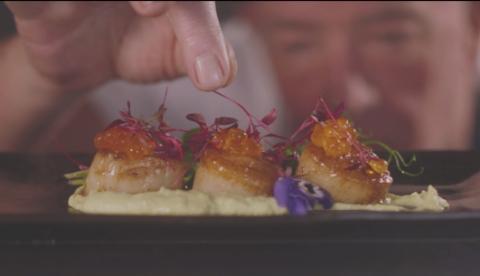 Fairyhill food video production