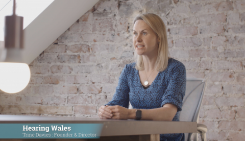 Corporate video for Hearing Wales
