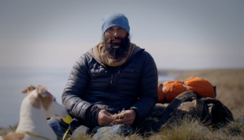 BBC Documentary, The Long Walk Home, featuring Christian Lewis on his walk around the UK coastline