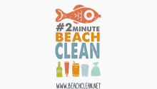 2 minute beach clean